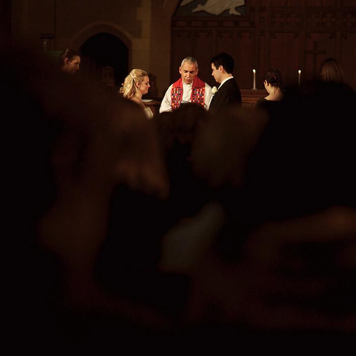 Creative Church Wedding