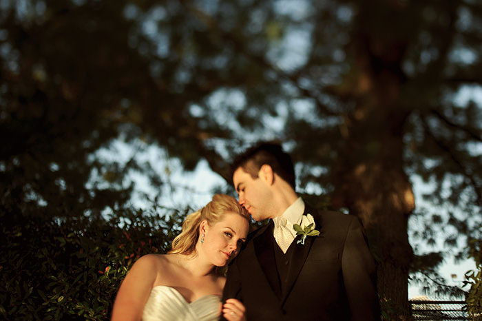 Tilt Shift Wedding Portraits
