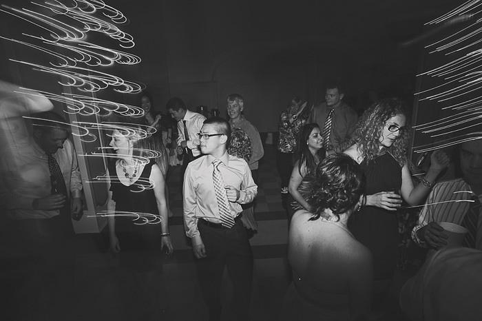 Dragging the Shutter Wedding
