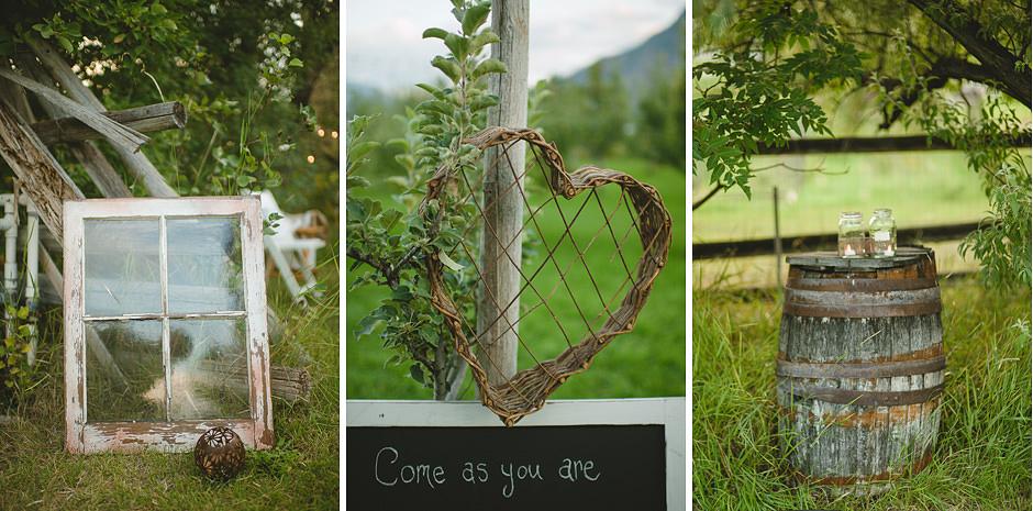 Garden Wedding Details