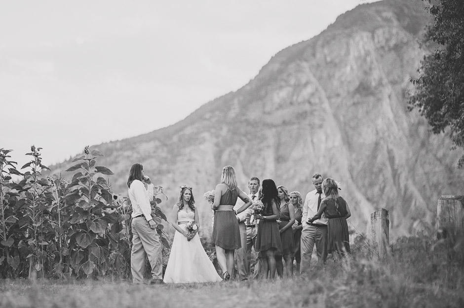 Okanagan Wedding Party