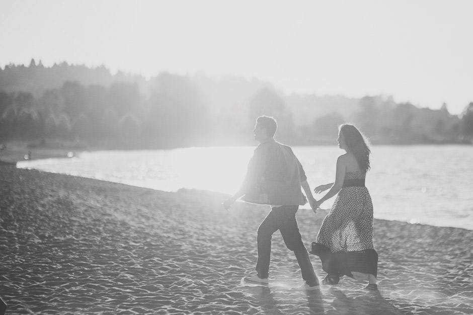 Vancouver Beach Engagement Session