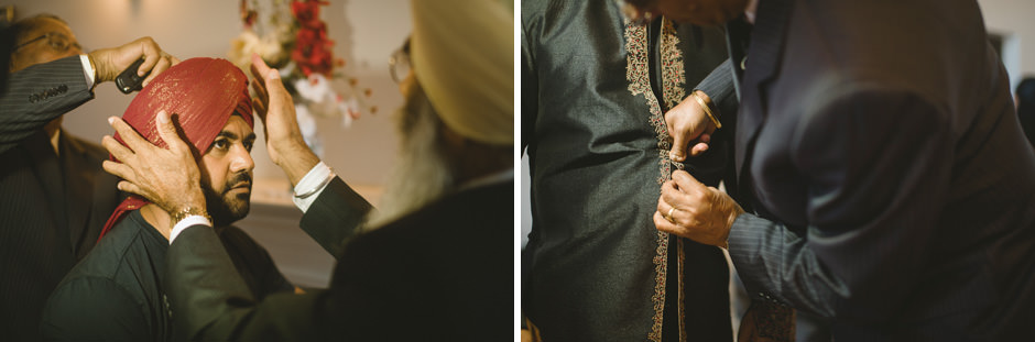 Sikh Groom Portraits