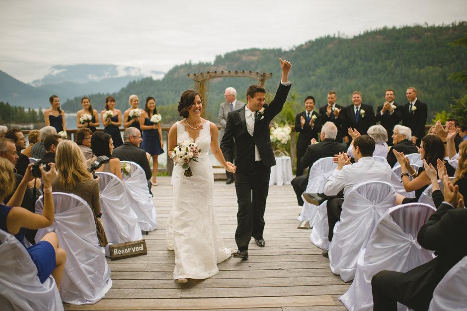 West Coast Wilderness Lodge Wedding