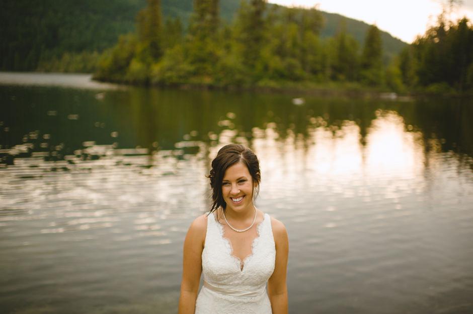 West Coast Wilderness Lodge Bride