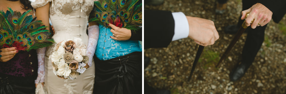 Peacock Feather Wedding Ideas