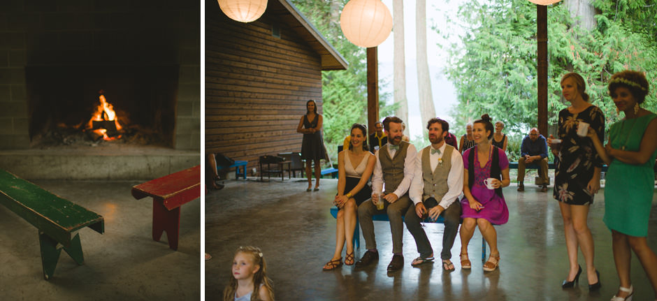 Vancouver Campground Wedding