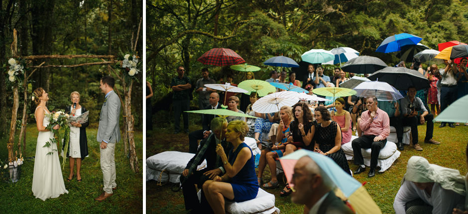 Matakana Campground Wedding