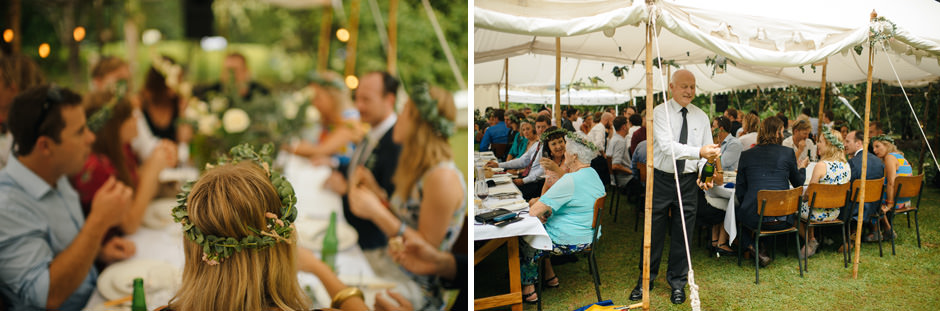 Matakana Campground Wedding Details