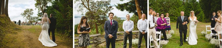 Galiano Island Wedding