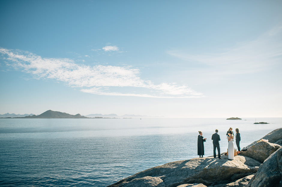 scenery wedding norway