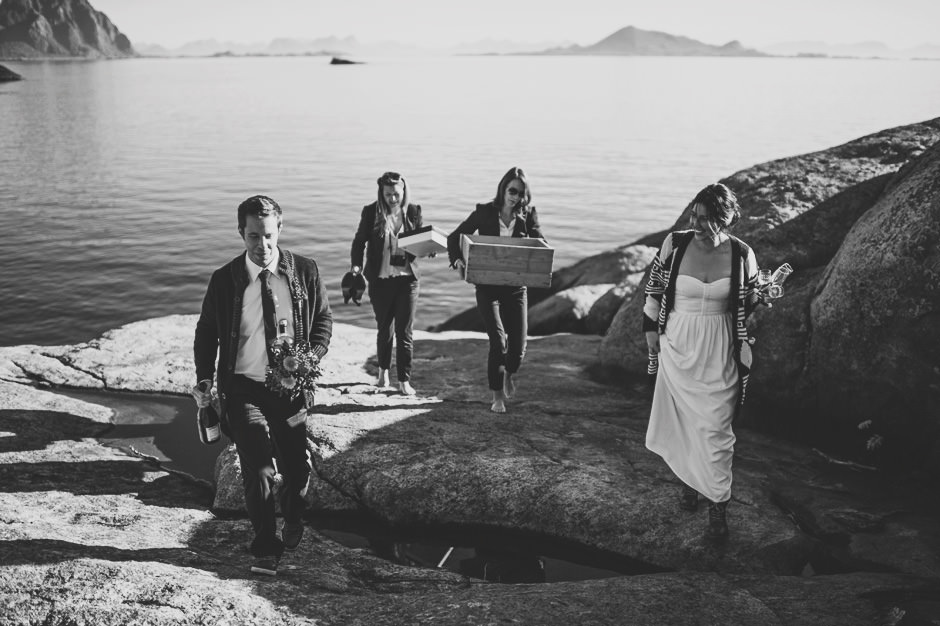 scenic wedding norway