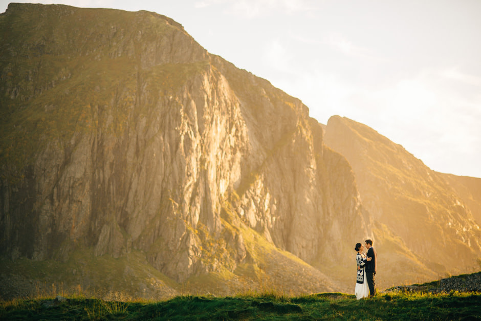 wedding photos lofoten