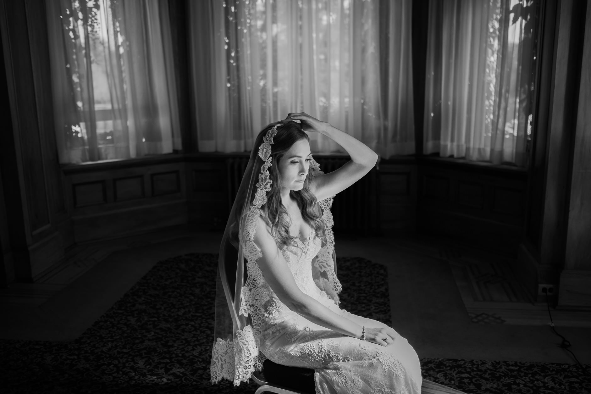 portrait wedding photos
