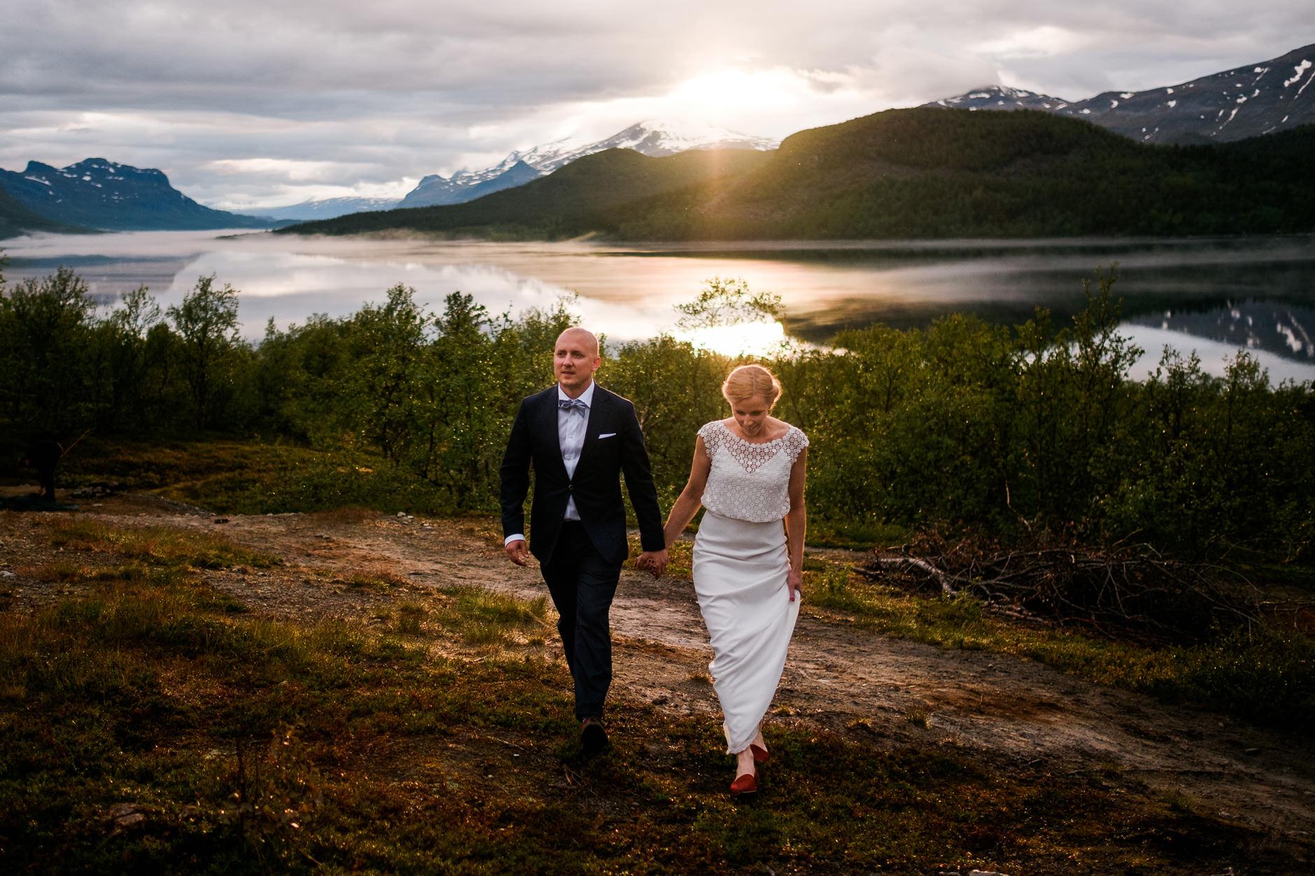 bröllopsfotograf norrland