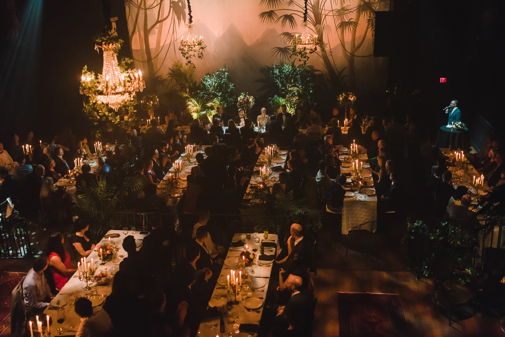 jungle themed wedding