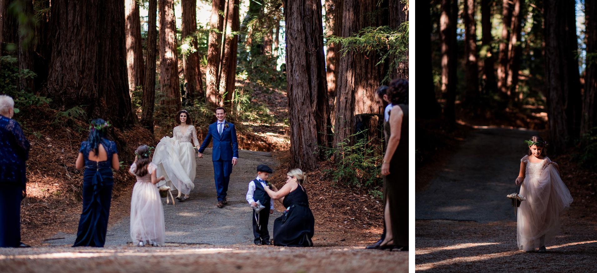 wedding at sequoia retreat center