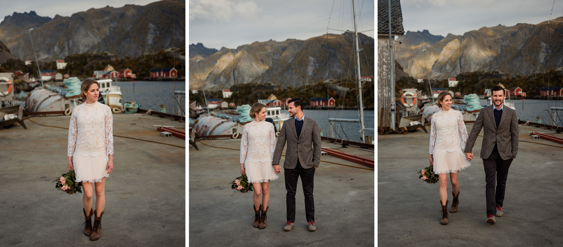lofoten elopement photographer