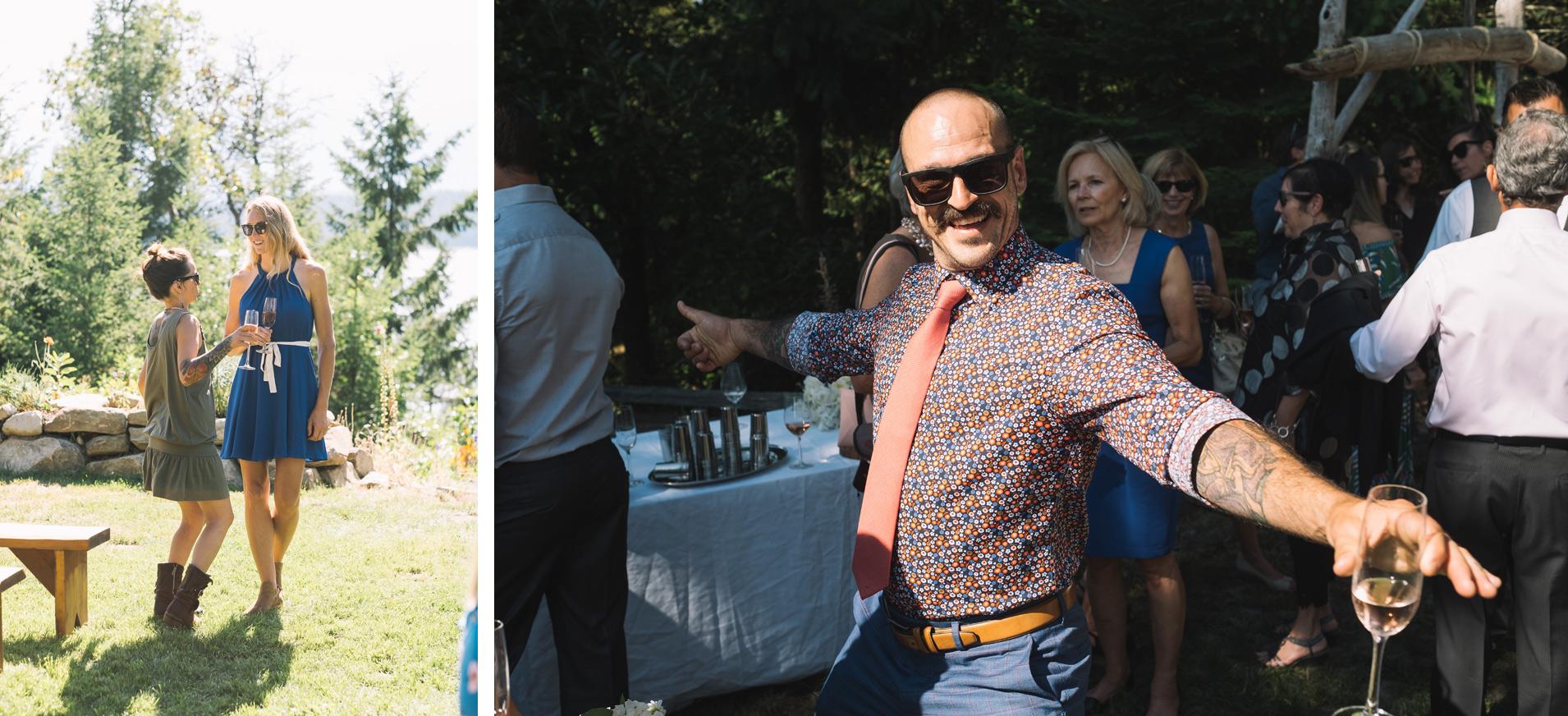 Bodega Ridge Wedding Guests