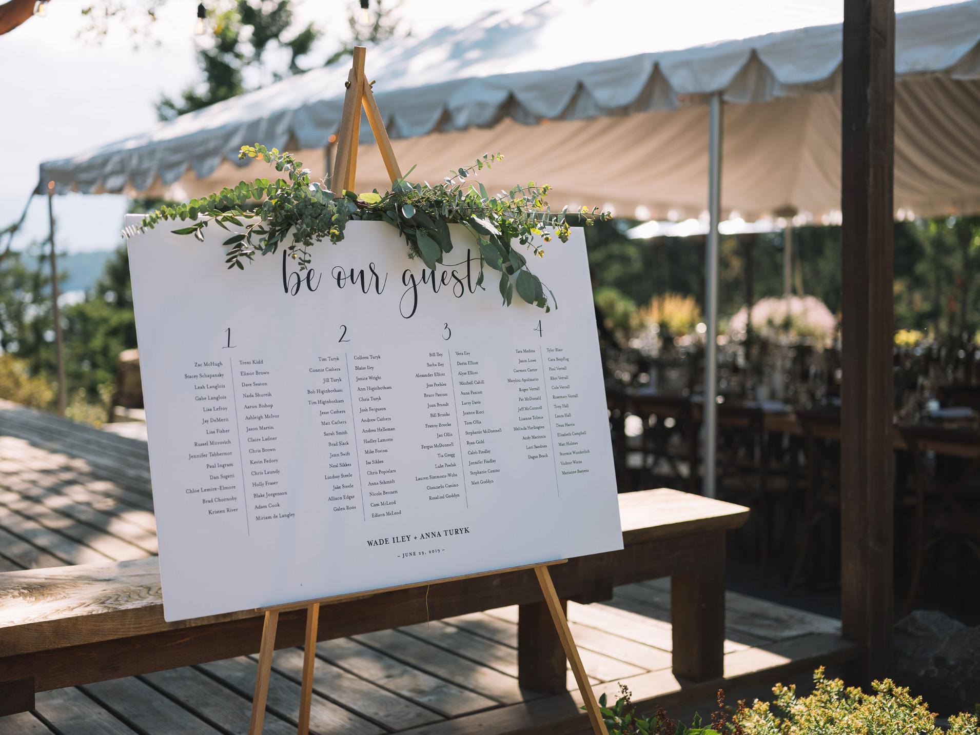 Bodega Ridge Wedding Details