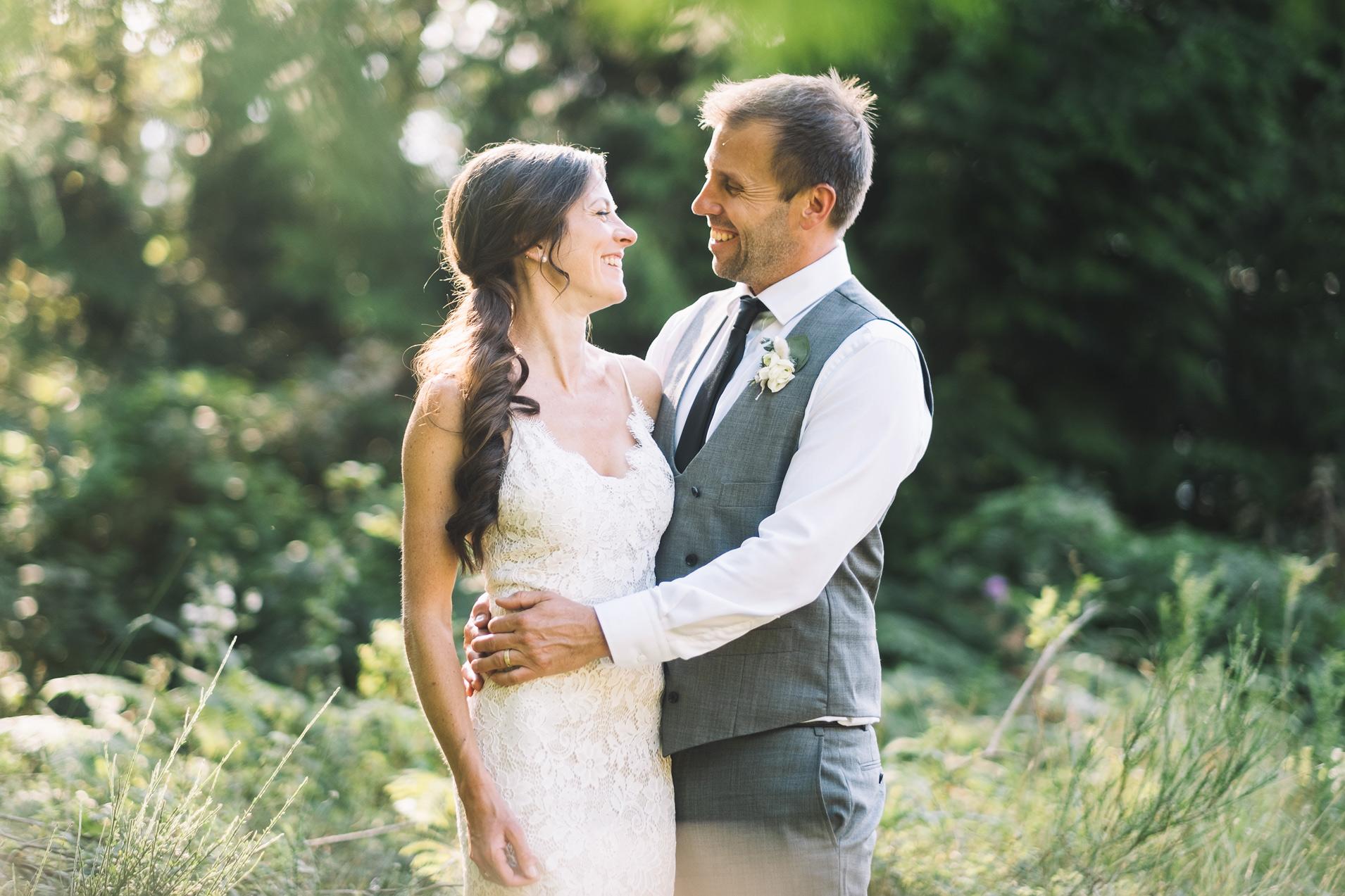 Bodega Ridge Wedding Portrait