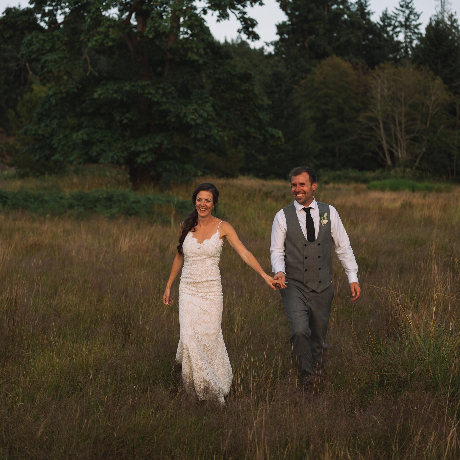 Bodega Ridge Wedding Couple