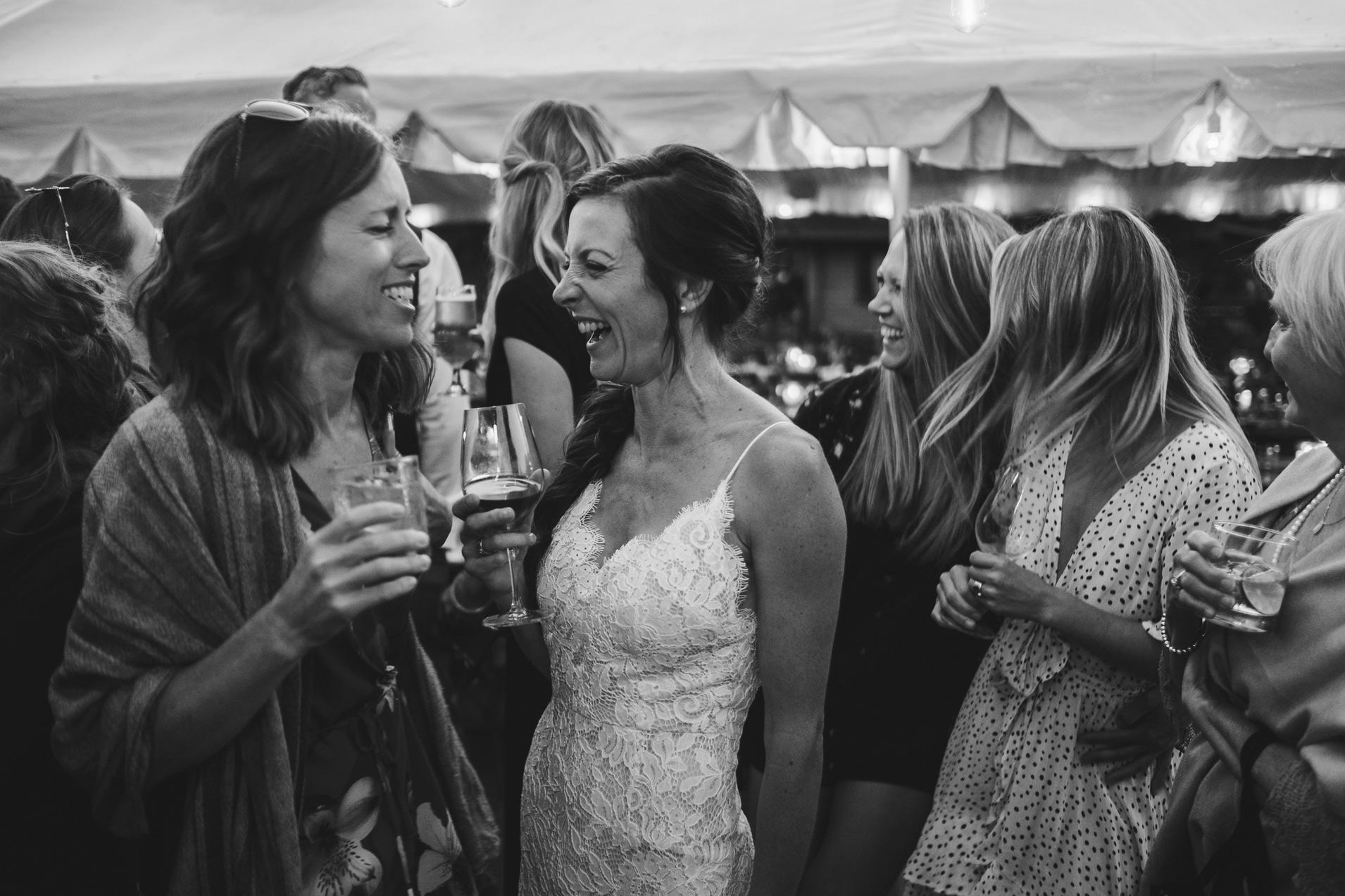 Bodega Ridge Wedding Reception