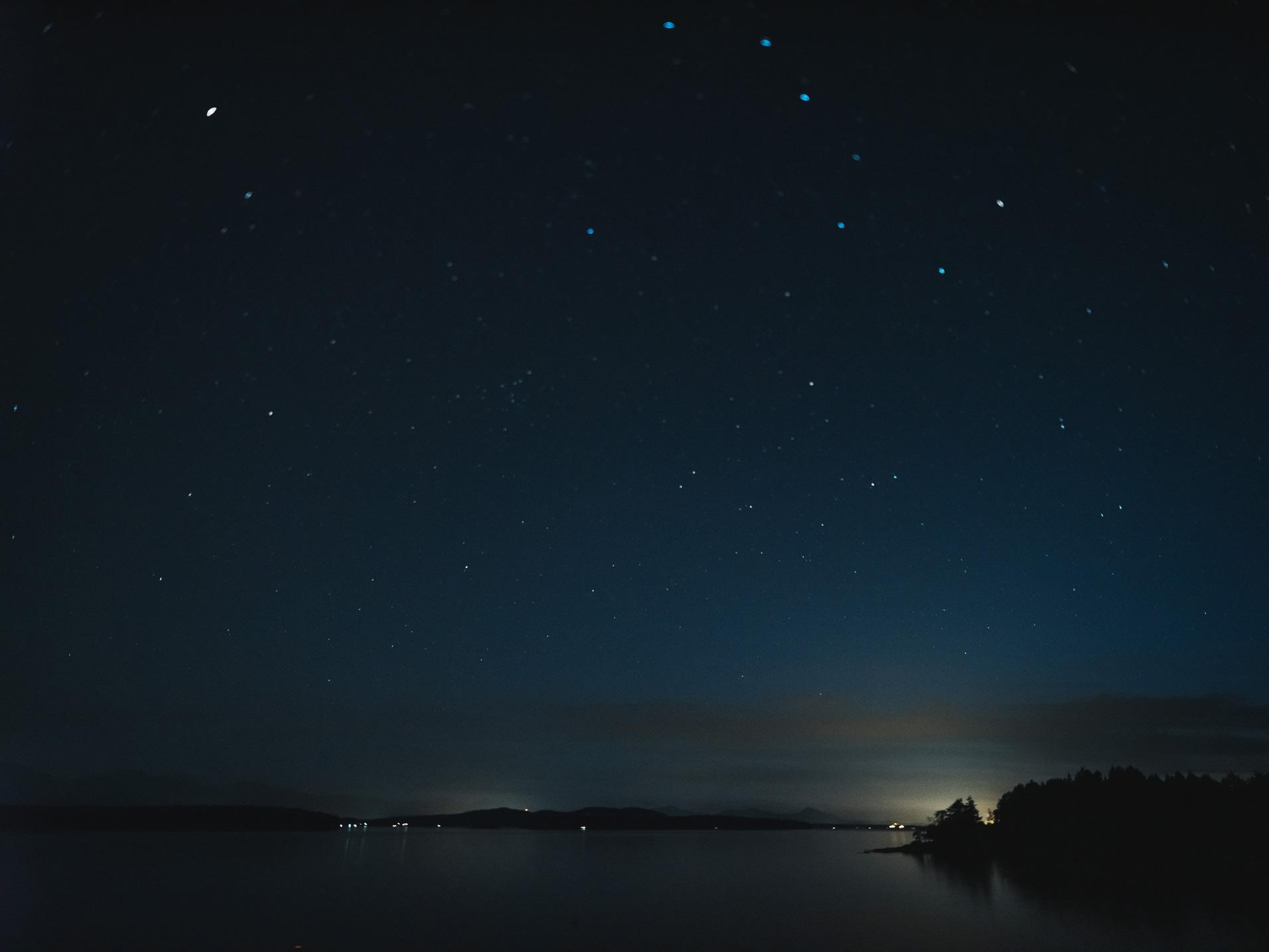 Gulf Islands Northern Lights