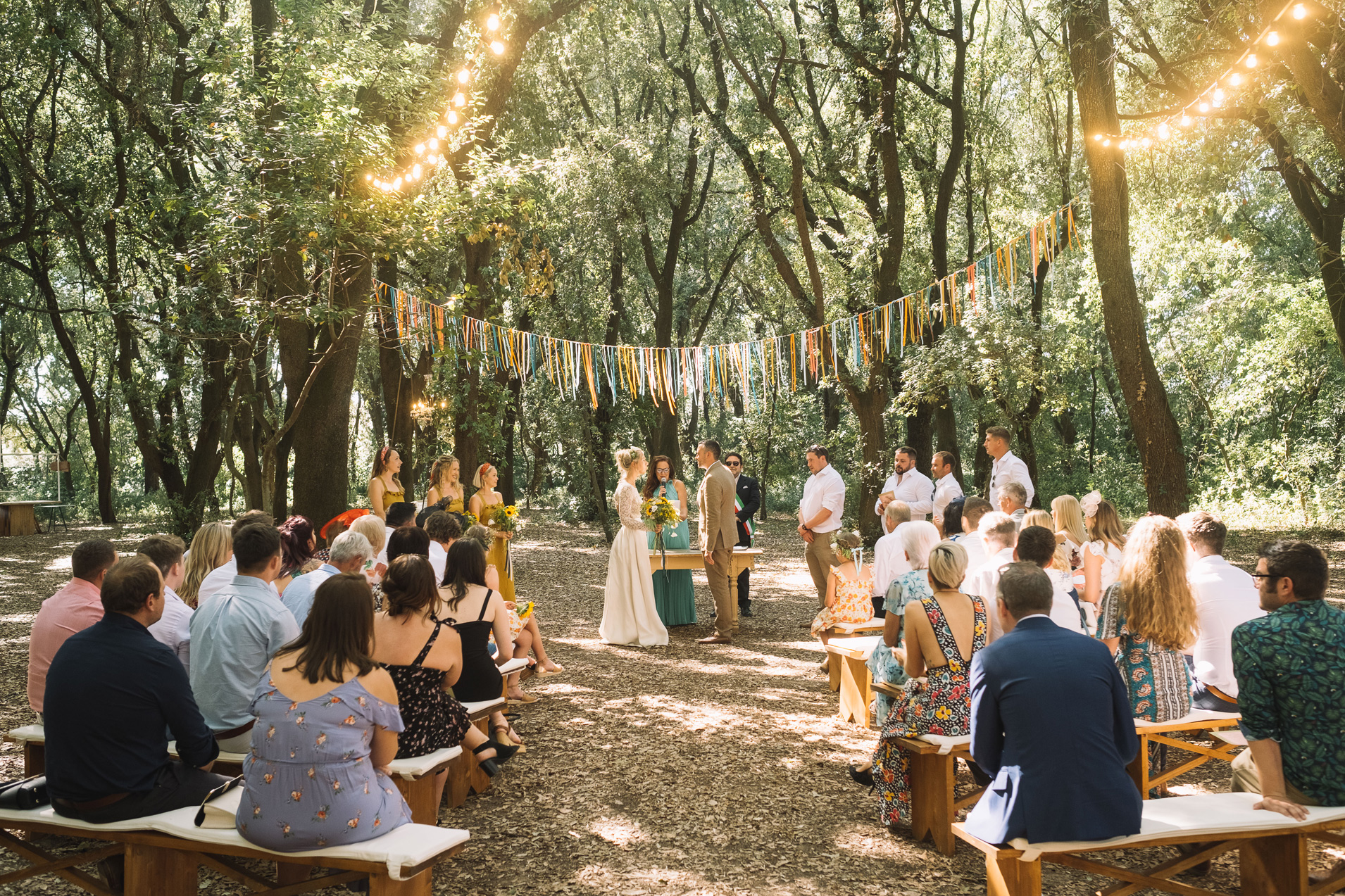 Tenuta Tresca Wedding Ceremony