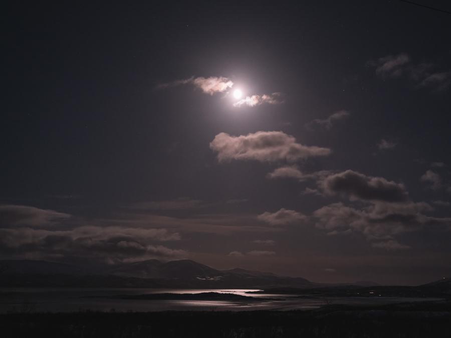 Abisko Moon