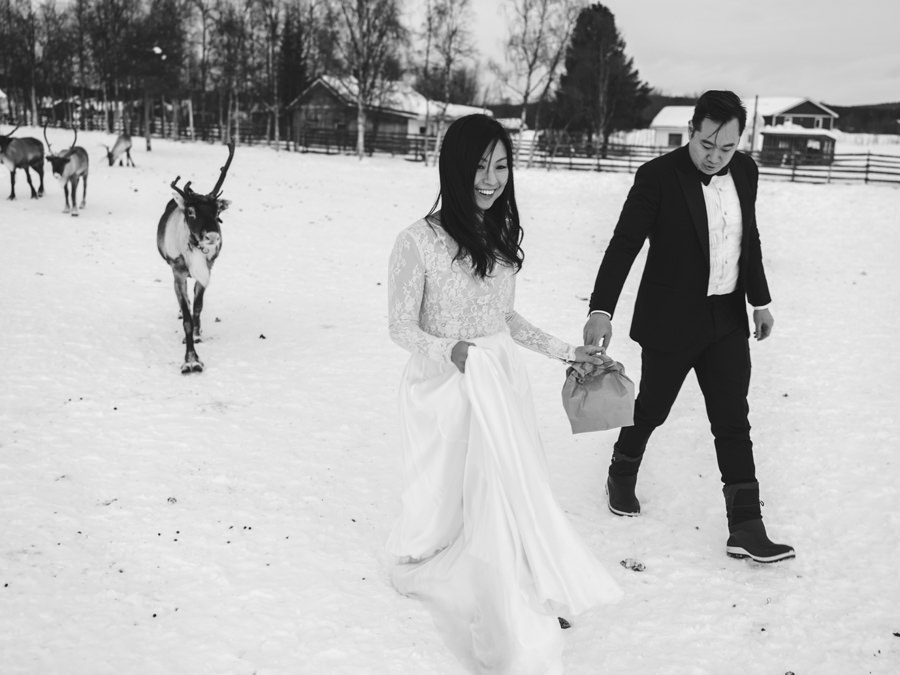 wedding in kiruna
