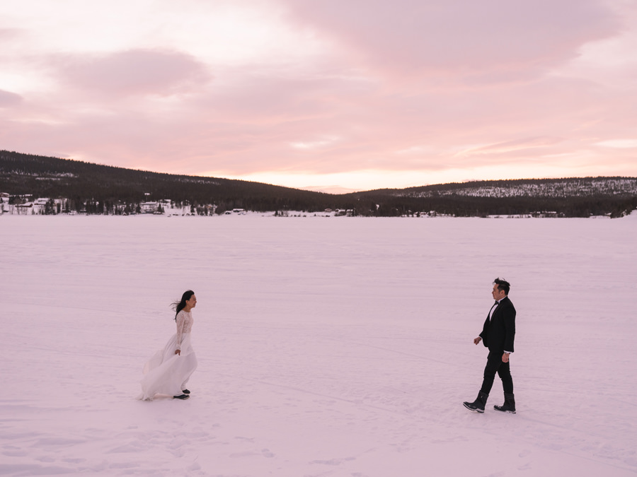 ICEHOTEL destination wedding