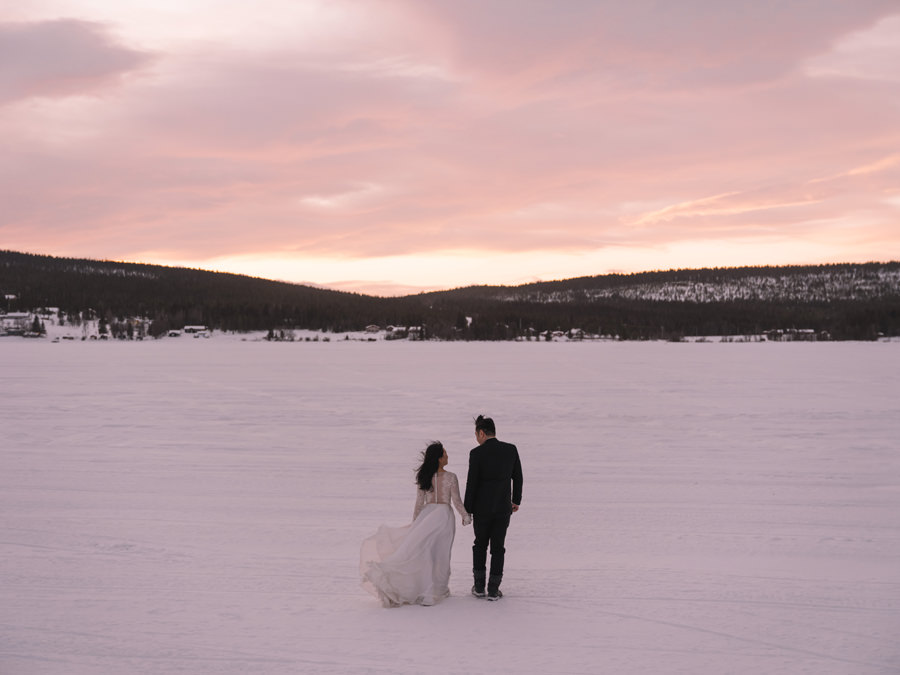ICEHOTEL destination weddings