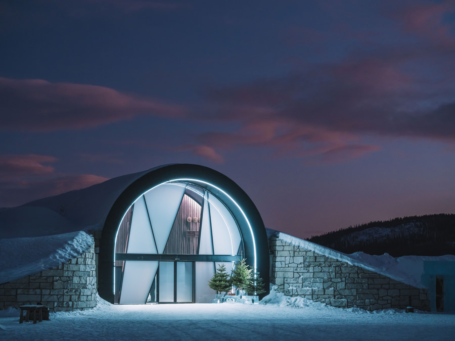 ICEHOTEL Sweden wedding