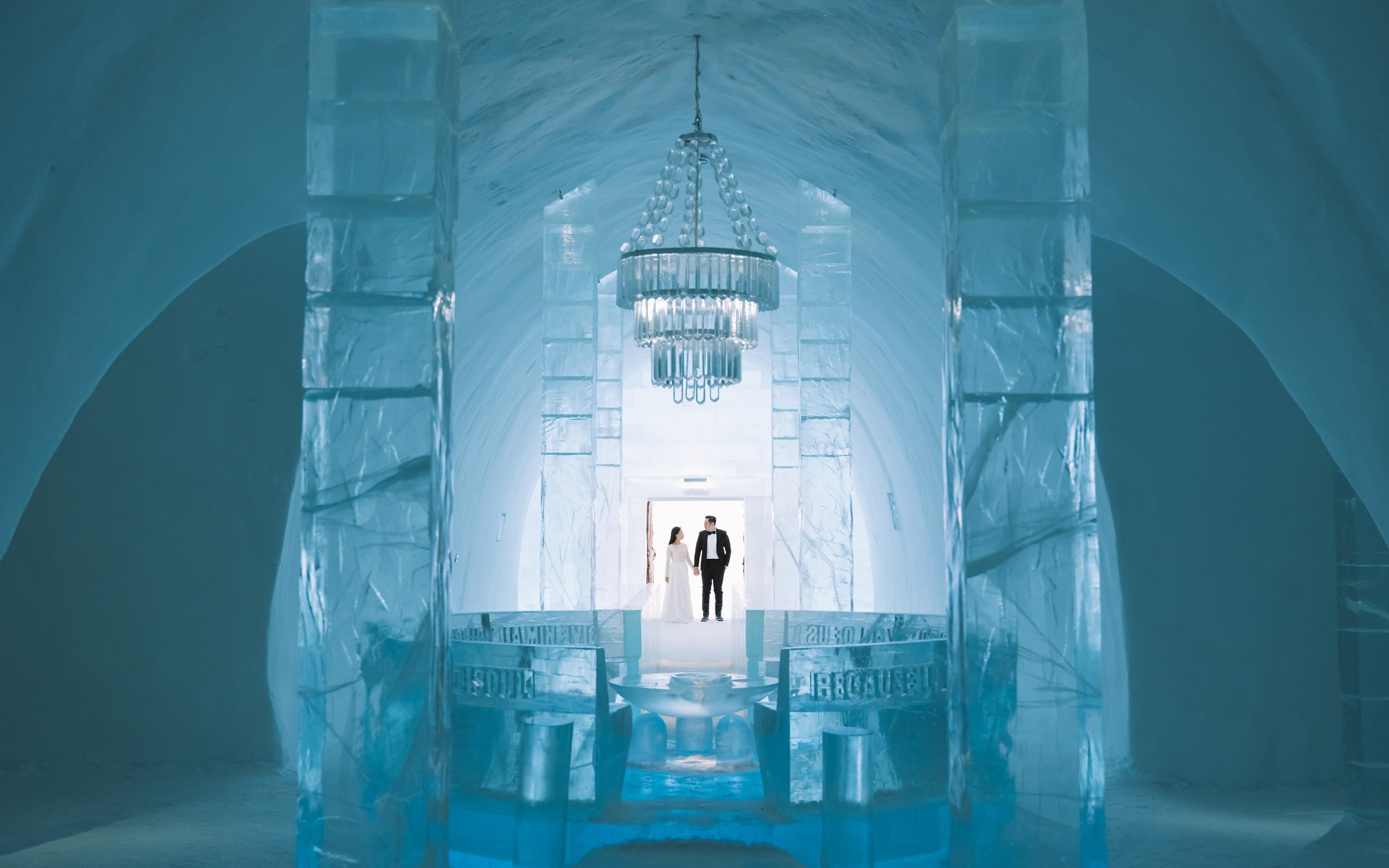 ICEHOTEL wedding